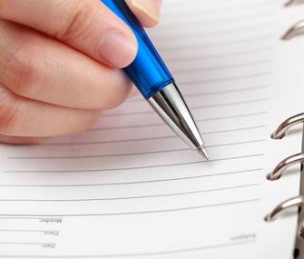 writing-a-list