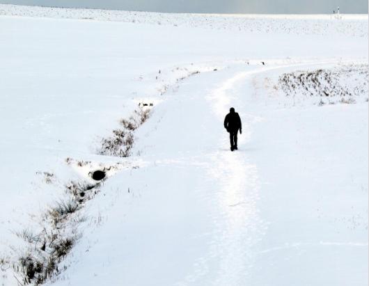 walking-in-snow
