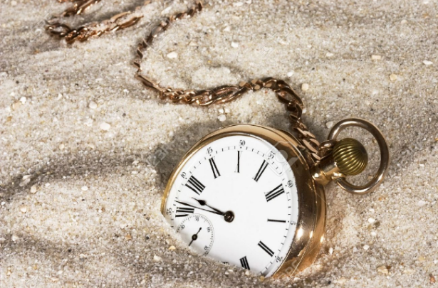 clock-in-the-sand