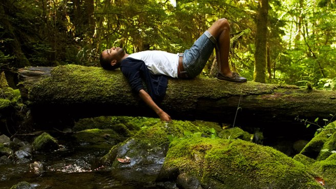 man_relaxing_In_nature